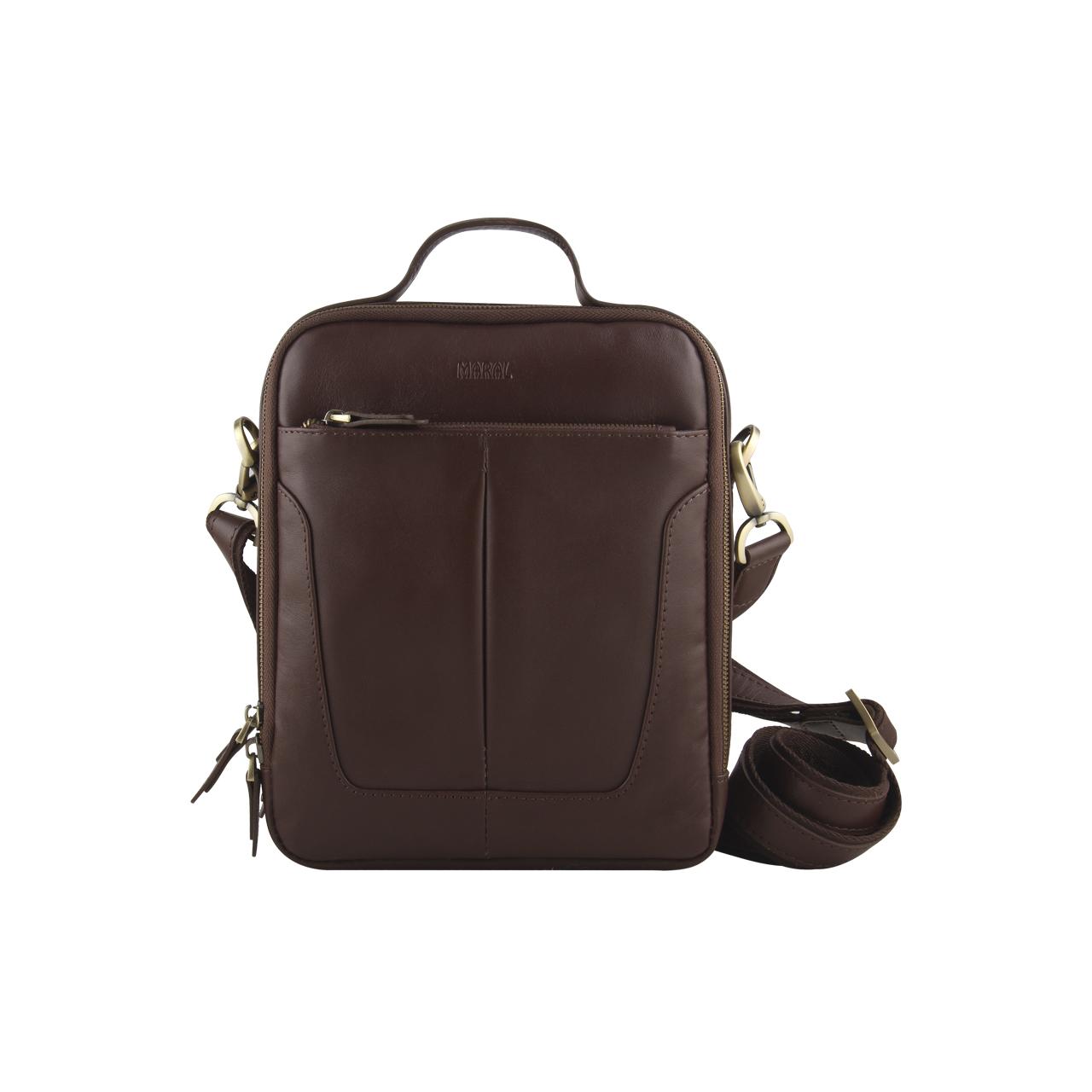 کیف دوشی مارال چرم مدل ادوارد