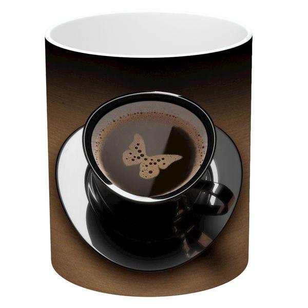 ماگ طرح فنجان قهوه مدل NI725