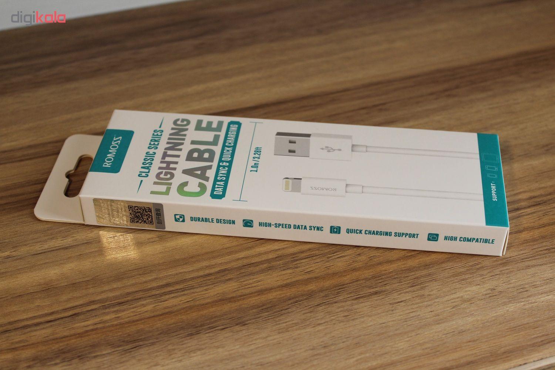 کابل تبدیل USB به لایتنینگ روموس مدل CB12 طول 1 متر main 1 6