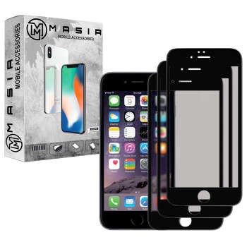 محافظ صفحه نمایش مات مسیر مدل MGFMT-3 مناسب برای گوشی موبایلاپل iPhone 6/6S بسته سه عددی