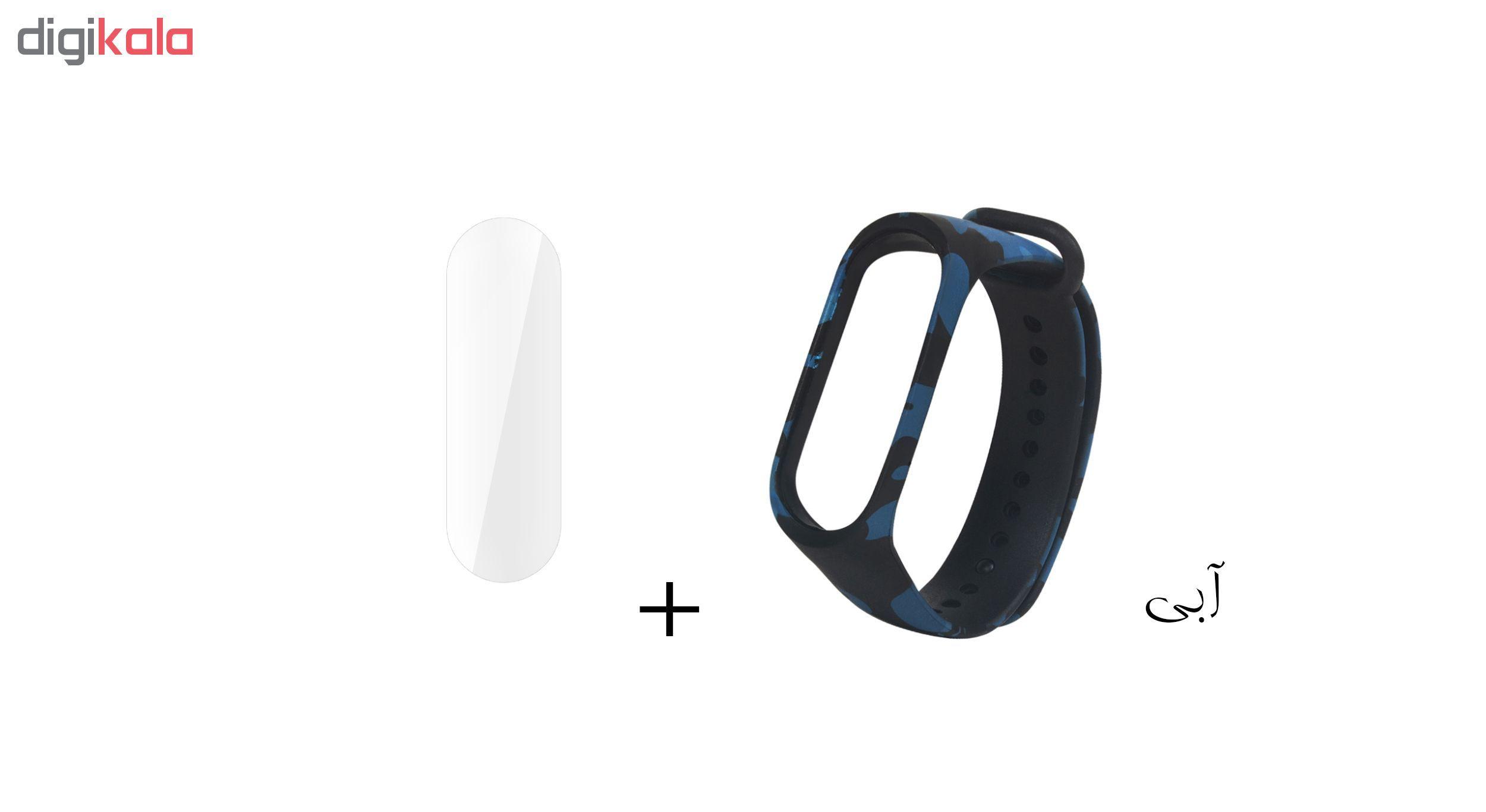 بند سومگ مدل  SMG-K4 مناسب برای مچ بند هوشمند شیائومی Mi Band 4 به همراه محافظ صفحه نمایش main 1 4