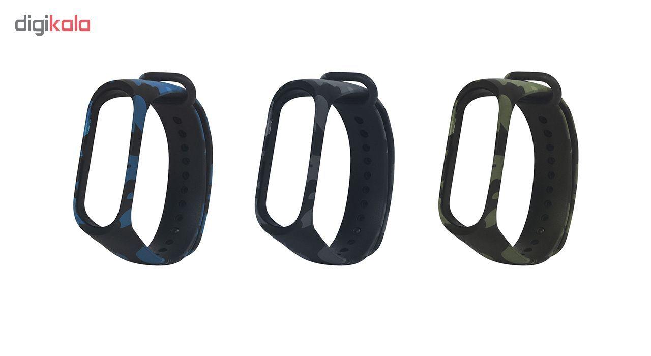 بند سومگ مدل  SMG-K4 مناسب برای مچ بند هوشمند شیائومی Mi Band 4 به همراه محافظ صفحه نمایش main 1 5