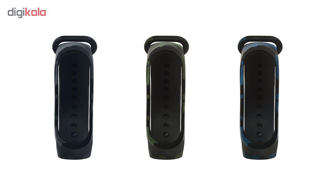 بند سومگ مدل  SMG-K4 مناسب برای مچ بند هوشمند شیائومی Mi Band 4 به همراه محافظ صفحه نمایش main 1 6