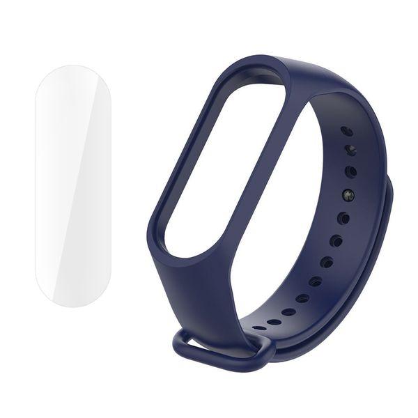 بند سومگ مدل SMG-K2 مناسب برای مچ بند هوشمند شیائومی Mi Band 4 به همراه محافظ صفحه نمایش
