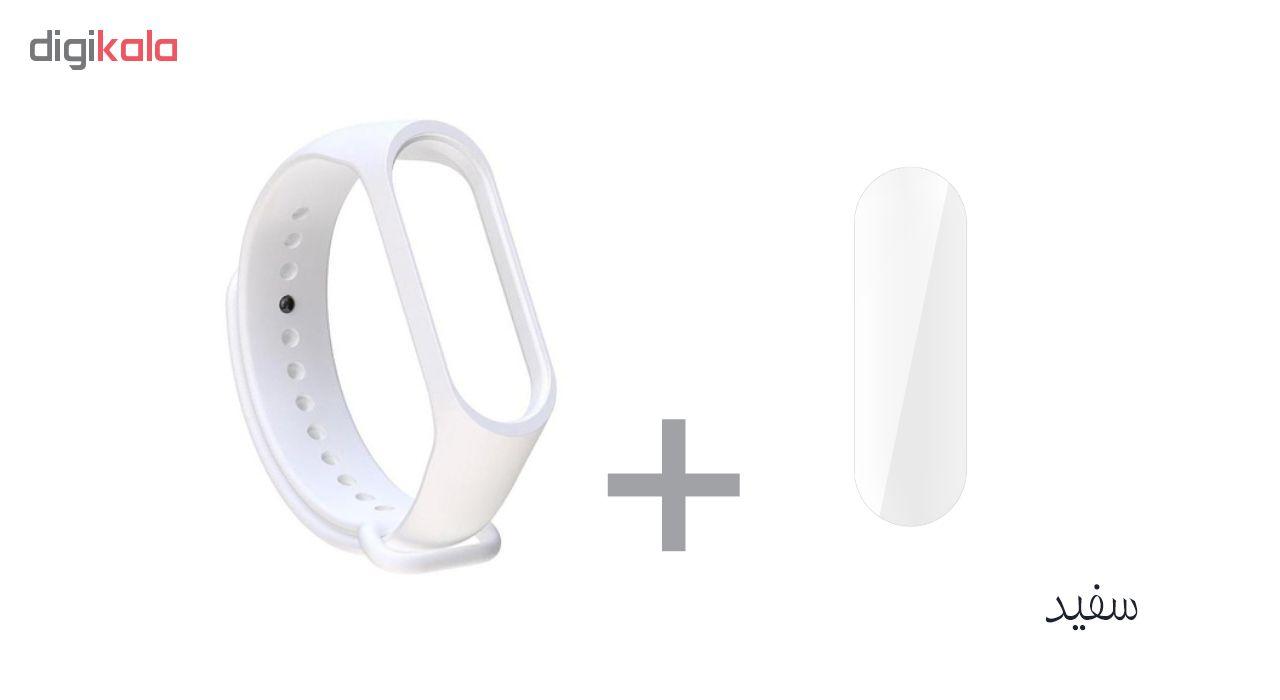 بند سومگ مدل SMG-K2 مناسب برای مچ بند هوشمند شیائومی Mi Band 4 به همراه محافظ صفحه نمایش main 1 2