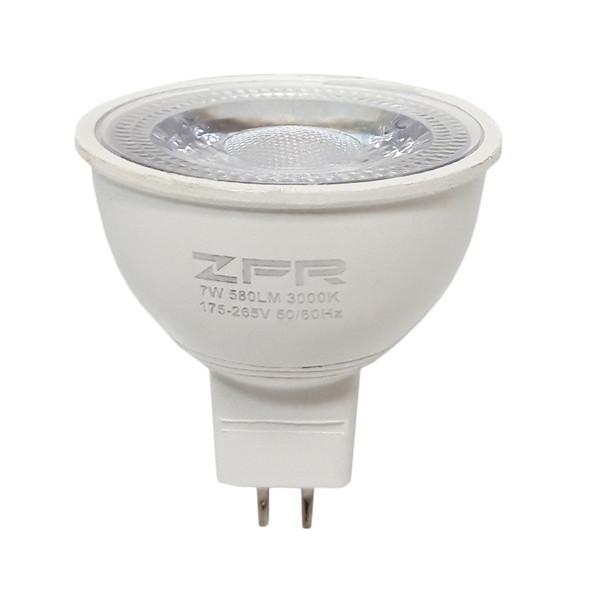 لامپ هالوژن ال ای دی 7 وات زد اف آر مدل H7W580 پایه GU5.3