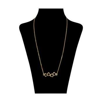 گردنبند طلا 18 عیار زنانه کد ad31