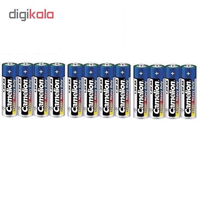 باتری قلمی کملیون مدل Super Heavy Duty بسته 12 عددی main 1 1