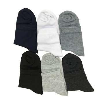 جوراب مردانه پایسان کد LD-6 مجموعه 6 عددی