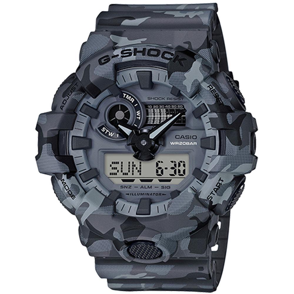 کد تخفیف                                      ساعت مچی دیجیتال مردانه کاسیو مدل جی شاک کد ga-700cm-8a
