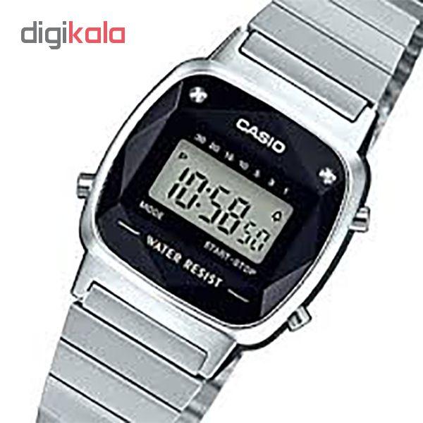 ساعت مچی دیجیتال زنانه کاسیو کد LA670WAD-1D