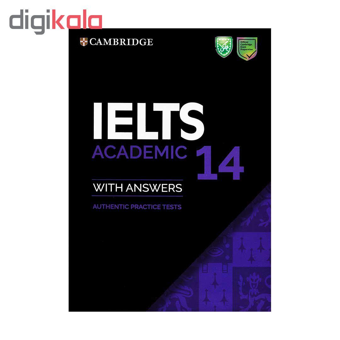 خرید                      کتاب IELTS 14 Academic اثر جمعی از نویسندگان انتشارات جنگل