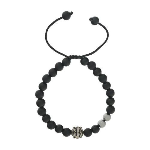 دستبند نقره شاینی کد N106