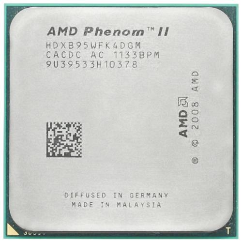 پردازنده مرکزی ای ام دی سری K10 مدل Phenom II X4 B95
