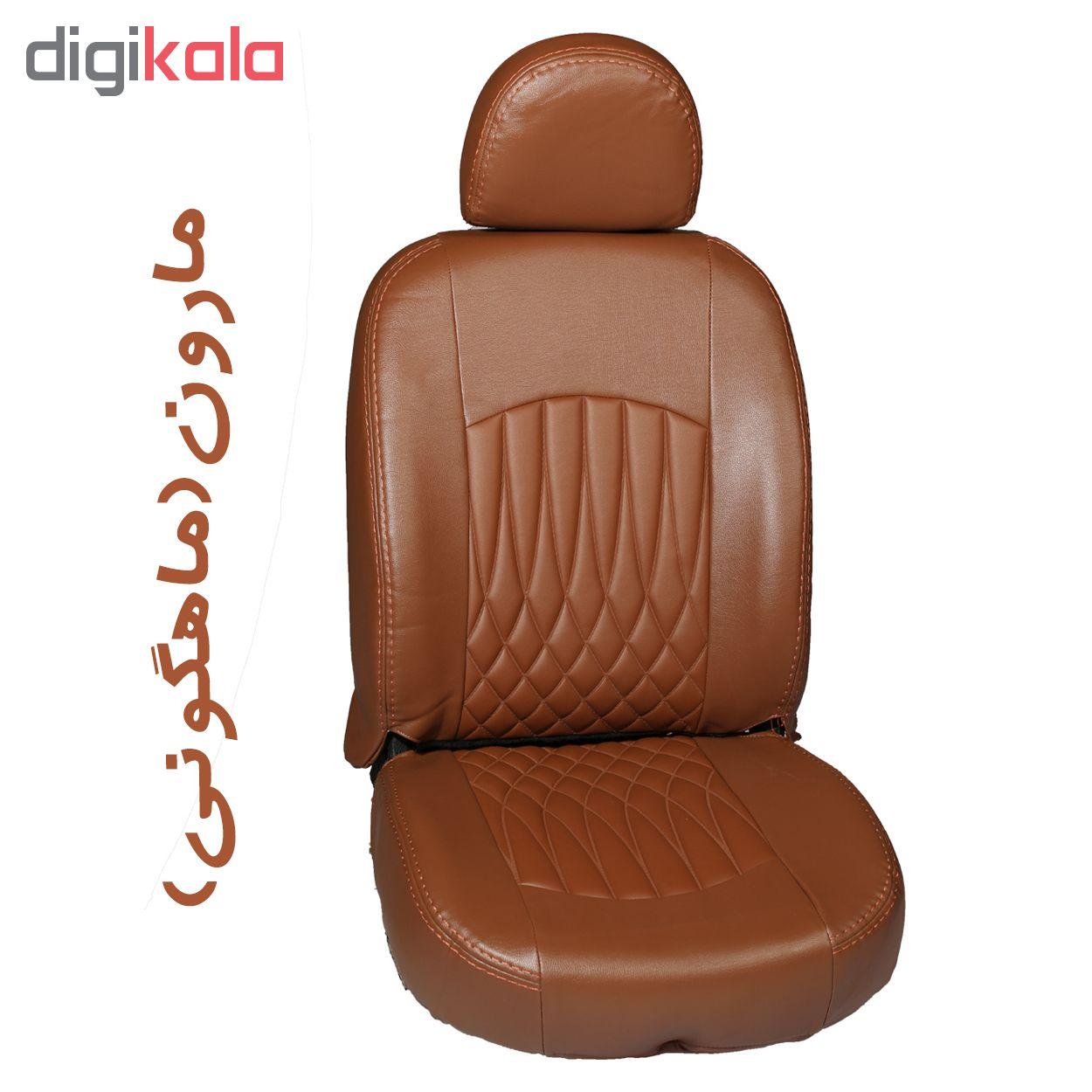 روکش صندلی خودرو جلوه مدل bg13 مناسب برای پژو 206