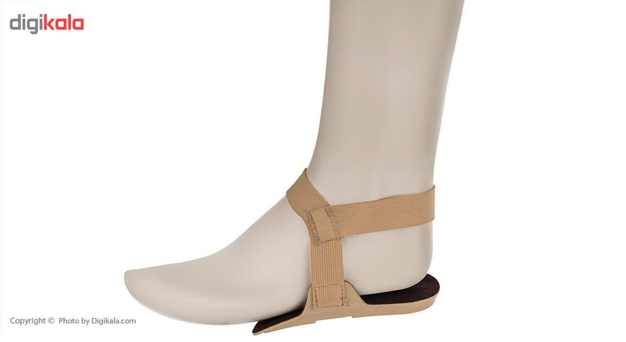 پد پاشنه طب و صنعت مدل With Elastic Straps  Teb And Sanat With Elastic Straps Heel Pads