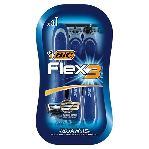 خود تراش بیک مدل Flex 3 بسته 3 عددی