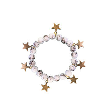 دستبند زنانه طرح ستاره کد ST02