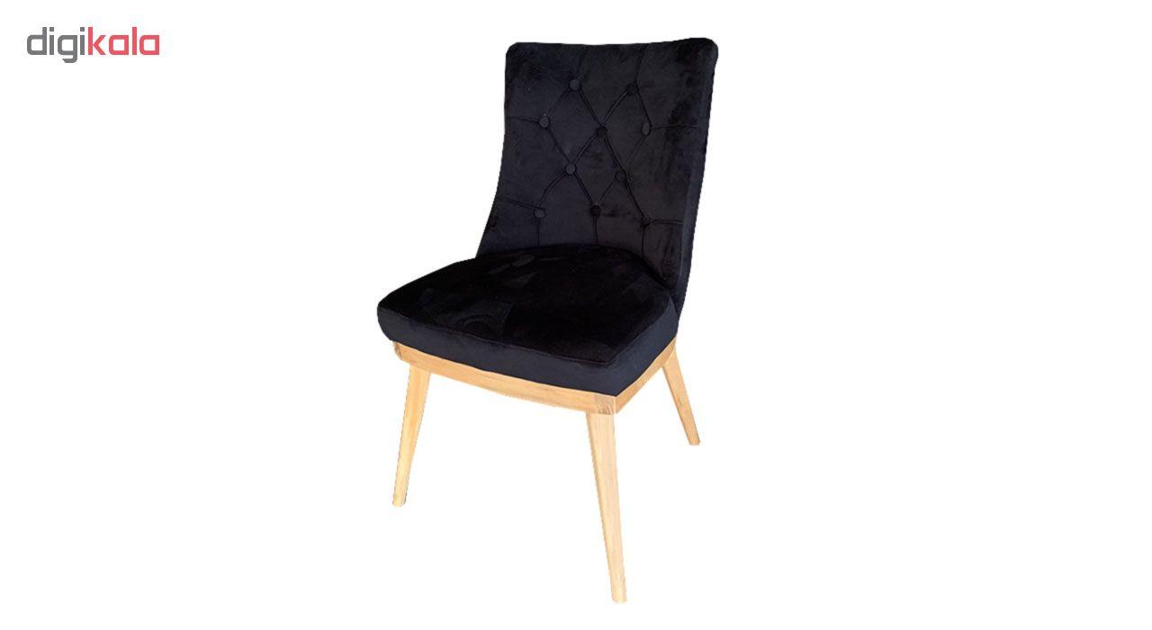 میز و صندلی ناهار خوری اسپرسان چوب کد Sm51