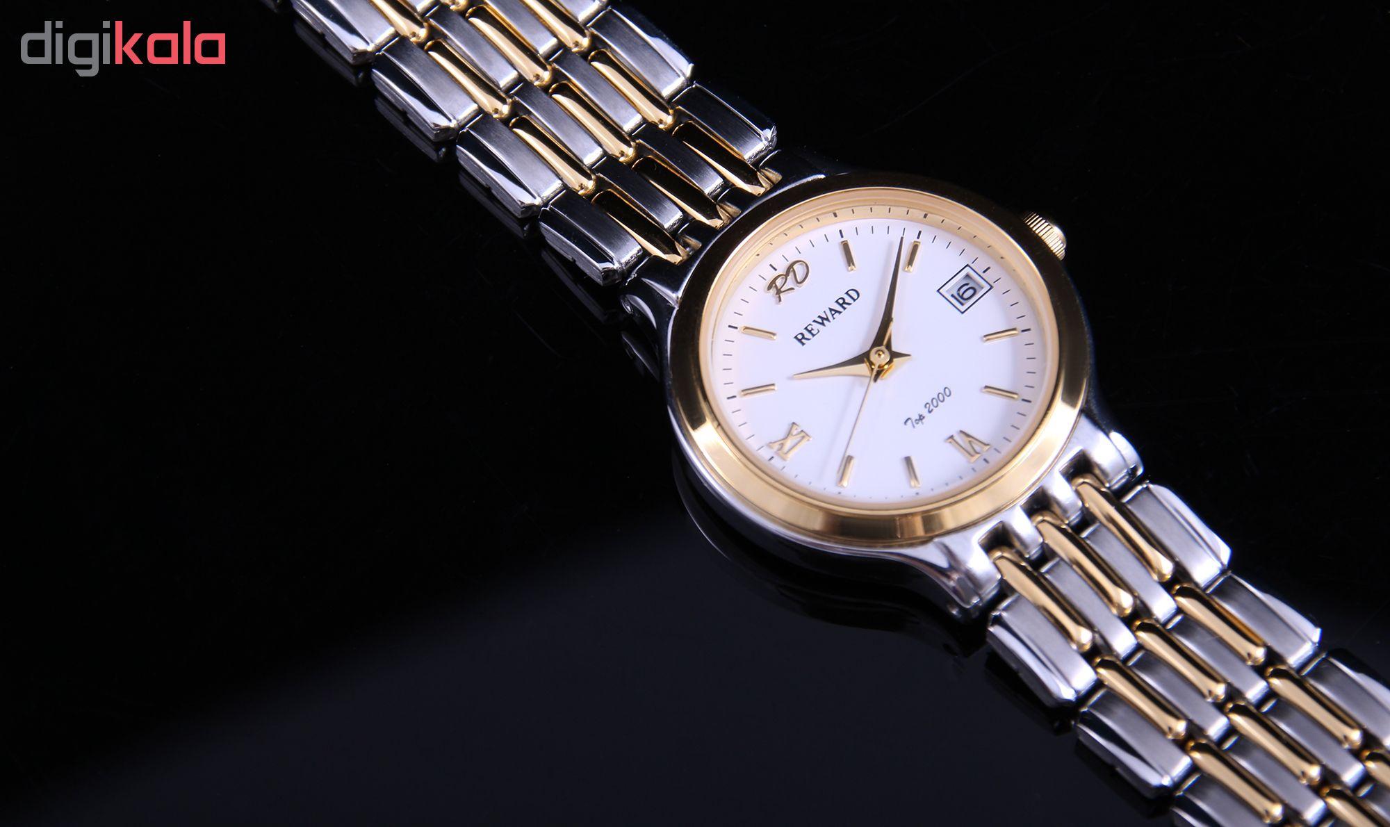 ساعت مچی عقربه ای زنانه ریوارد کد SN-BJ006L-2-SG