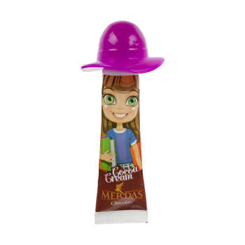 کرم کاکائو فندقی مدل Girl مرداس مقدار 24 گرم