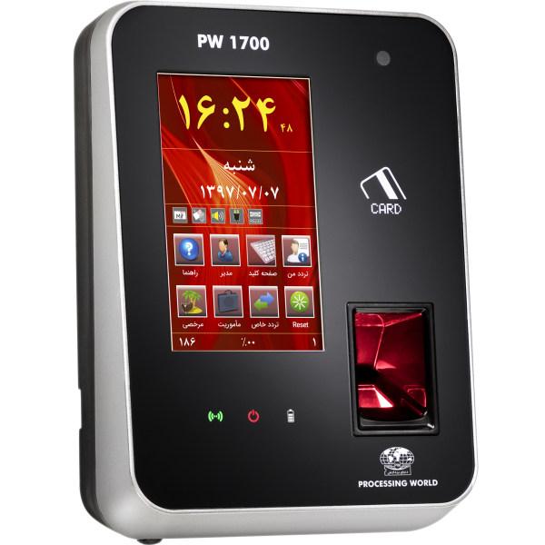 دستگاه حضور و غیاب دنیای پردازش مدل PW1700