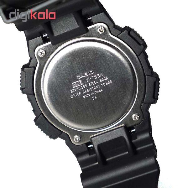 ساعت مچی دیجیتال مردانه کاسیو مدل W-736H-1A             قیمت