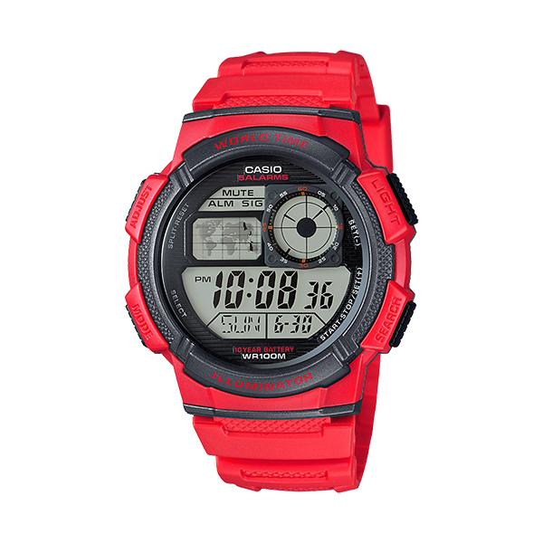 کد تخفیف                                      ساعت مچی دیجیتال مردانه کاسیو کد AE-1000W-4A