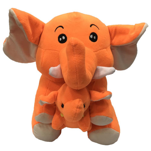 عروسک طرح فیل بچه بغل ارتفاع 35 سانتی متر