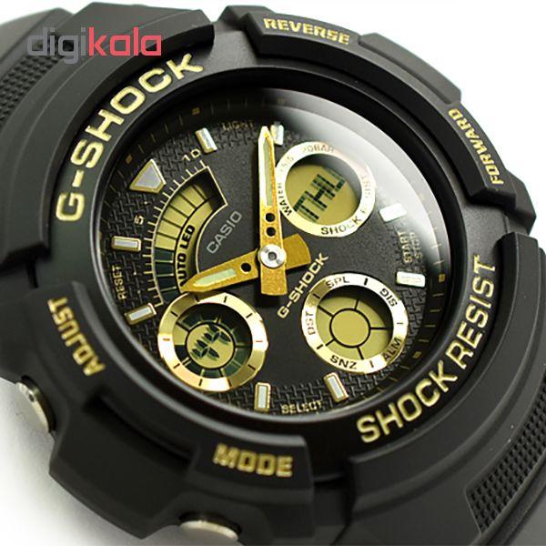 ساعت مچی عقربه ای مردانه کاسیو مدل AW-591GBX-1A9