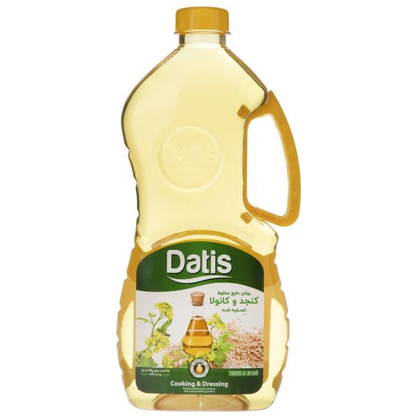 روغن کنجد و کانولا تصفیه شده داتیس - 1.8 لیتر