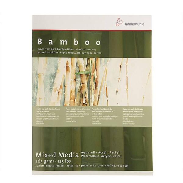 مقوا بلوک آبرنگ هانه موله مدل Bamboo سایز 40 × 30 سانتیمتر