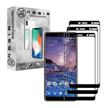محافظ صفحه نمایش مسیر مدل MGF-3 مناسب برای گوشی موبایل  نوکیا 7Plus بسته 3 عددی