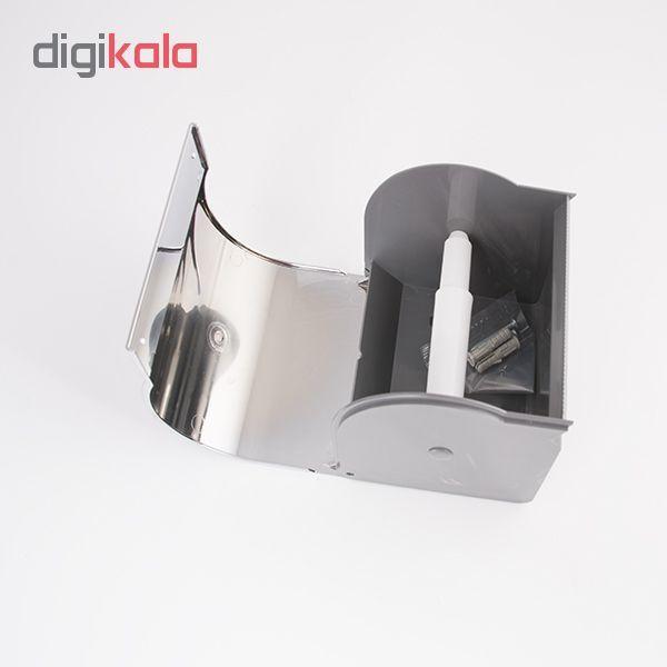 پایه رول دستمال کاغذی کاریز مدل delsa main 1 1