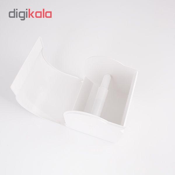 پایه رول دستمال کاغذی کاریز مدل delsa main 1 3