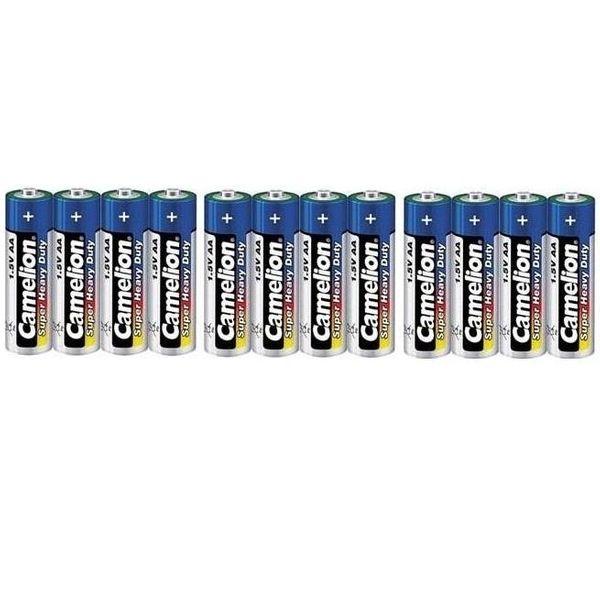 باتری قلمی کملیون مدل Super Heavy Duty بسته 12 عددی