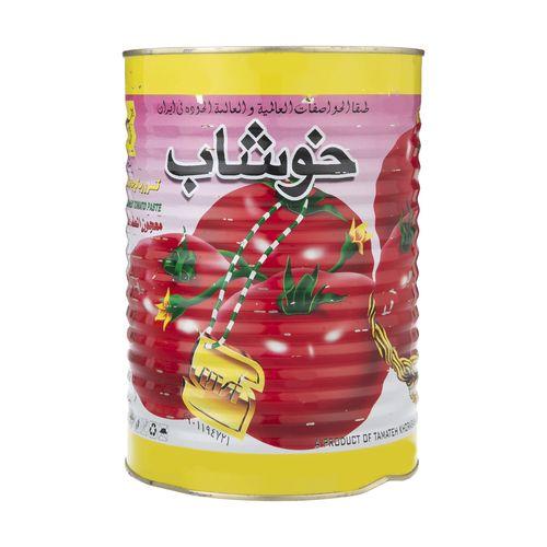 کنسرو رب گوجه فرنگی خوشاب مقدار 4 کیلوگرم