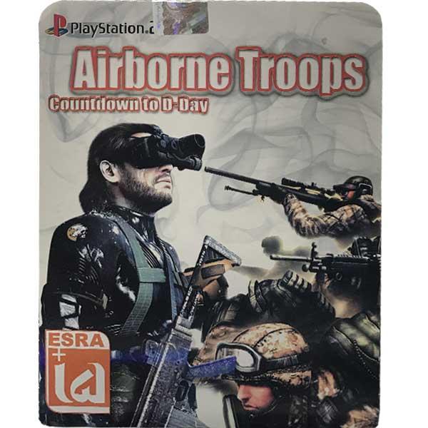 بازی airborne troops countdown to d-day مخصوص ps2
