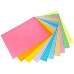 کاغذ رنگی A4 مدل Rangin kaman بسته 50 عددی thumb