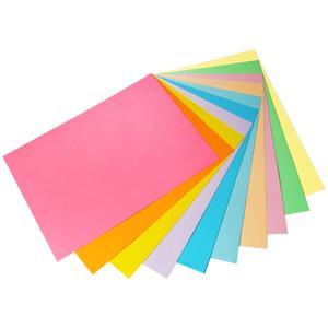 کاغذ رنگی A4 مدل Rangin kaman بسته 50 عددی