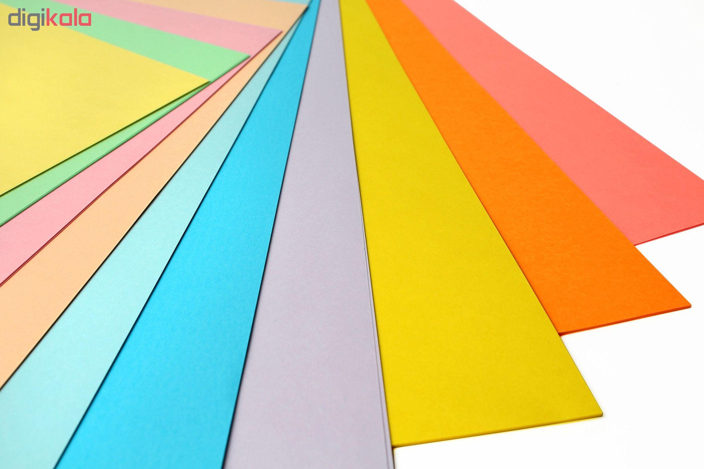 کاغذ رنگی A4 مدل Rangin kaman بسته 50 عددی main 1 1