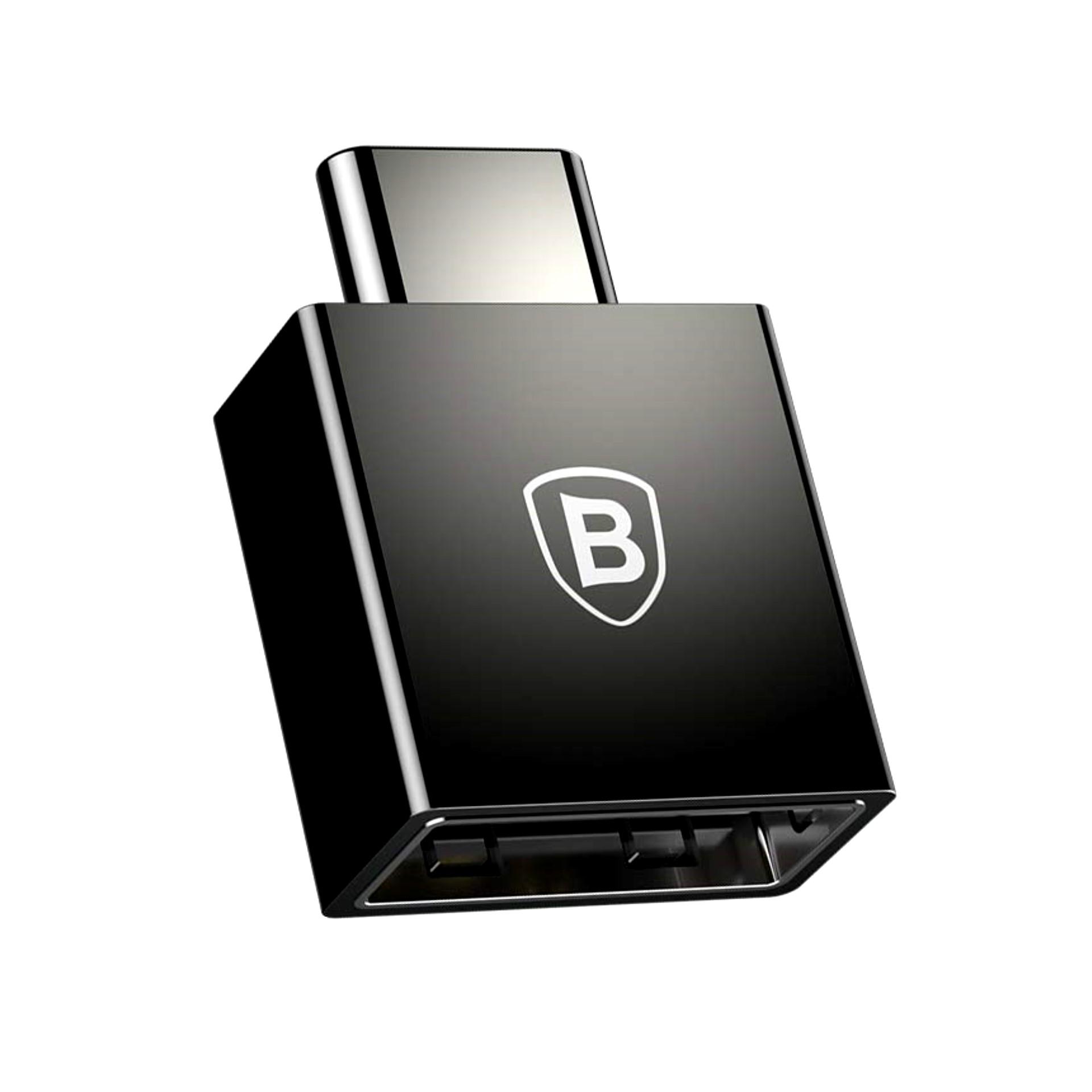 مبدل OTG USB-C باسئوس مدل CATJQ-B