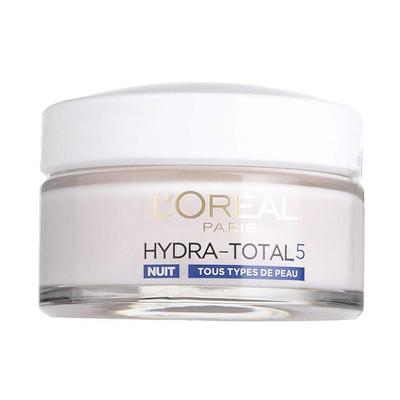 کرم مرطوب کننده شب لورآل سری Hydra-Total 5 حجم 50 میلی لیتر