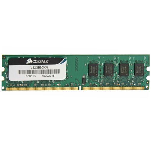رم دسکتاپ DDR2 تک کاناله 800 مگاهرتز CL5 کورسیر مدل VS2GB800D2 ظرفیت 2 گیگابایت