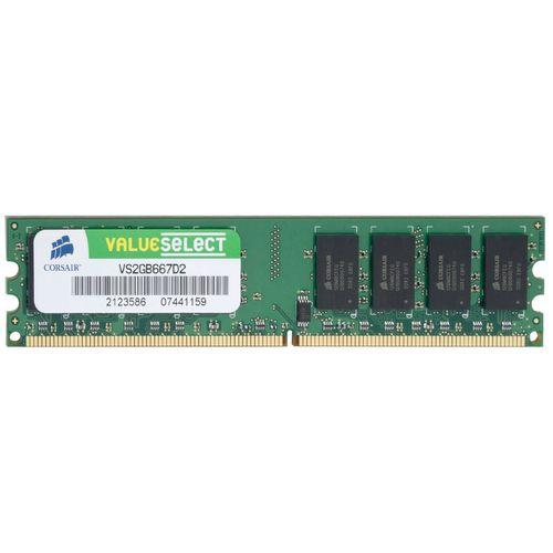 رم دسکتاپ DDR2 تک کاناله 800 مگاهرتز CL5 کورسیر مدل VS2GB667D2 ظرفیت 2 گیگابایت
