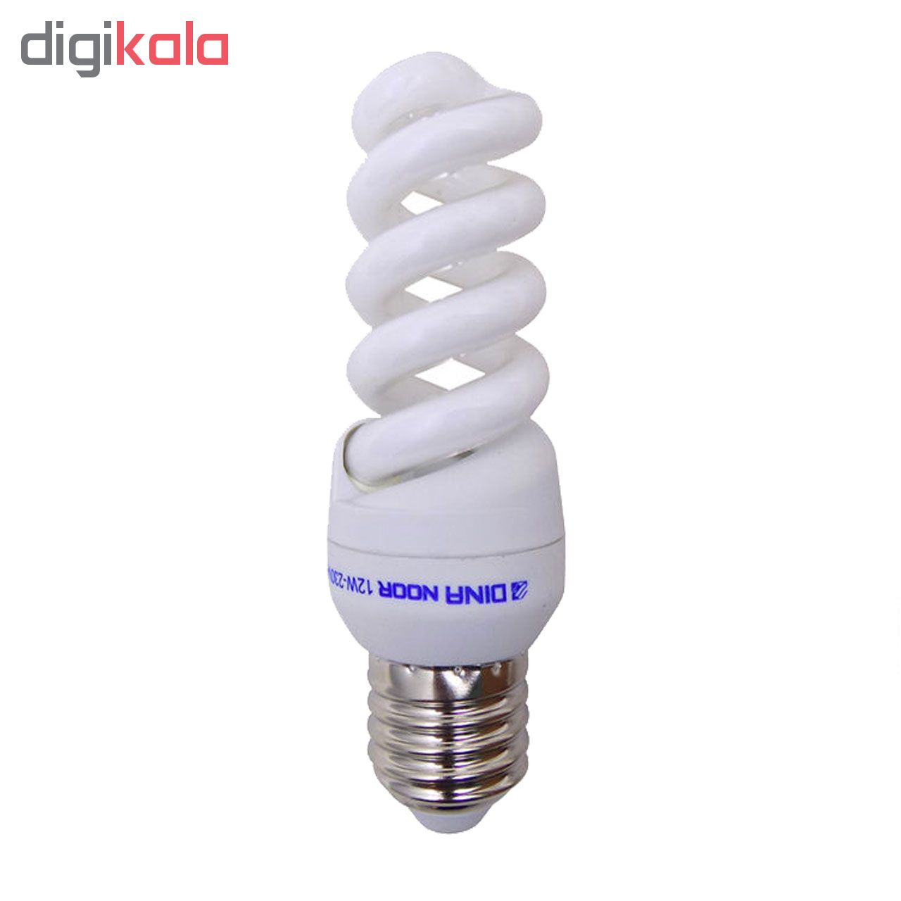 لامپ کم مصرف 9 وات دینا نور مدل DN 10 پایه E14