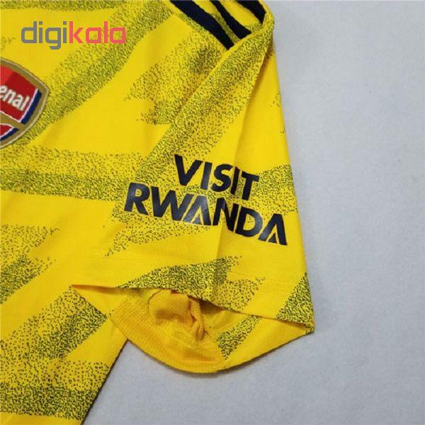 تی شرت ورزشی مردانه طرح آرسنال کد 2020-2019 away