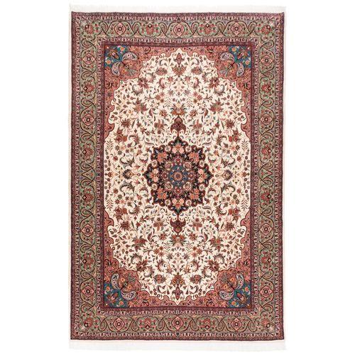 فرش دستباف قدیمی شش و نیم متری سی پرشیا کد 174155