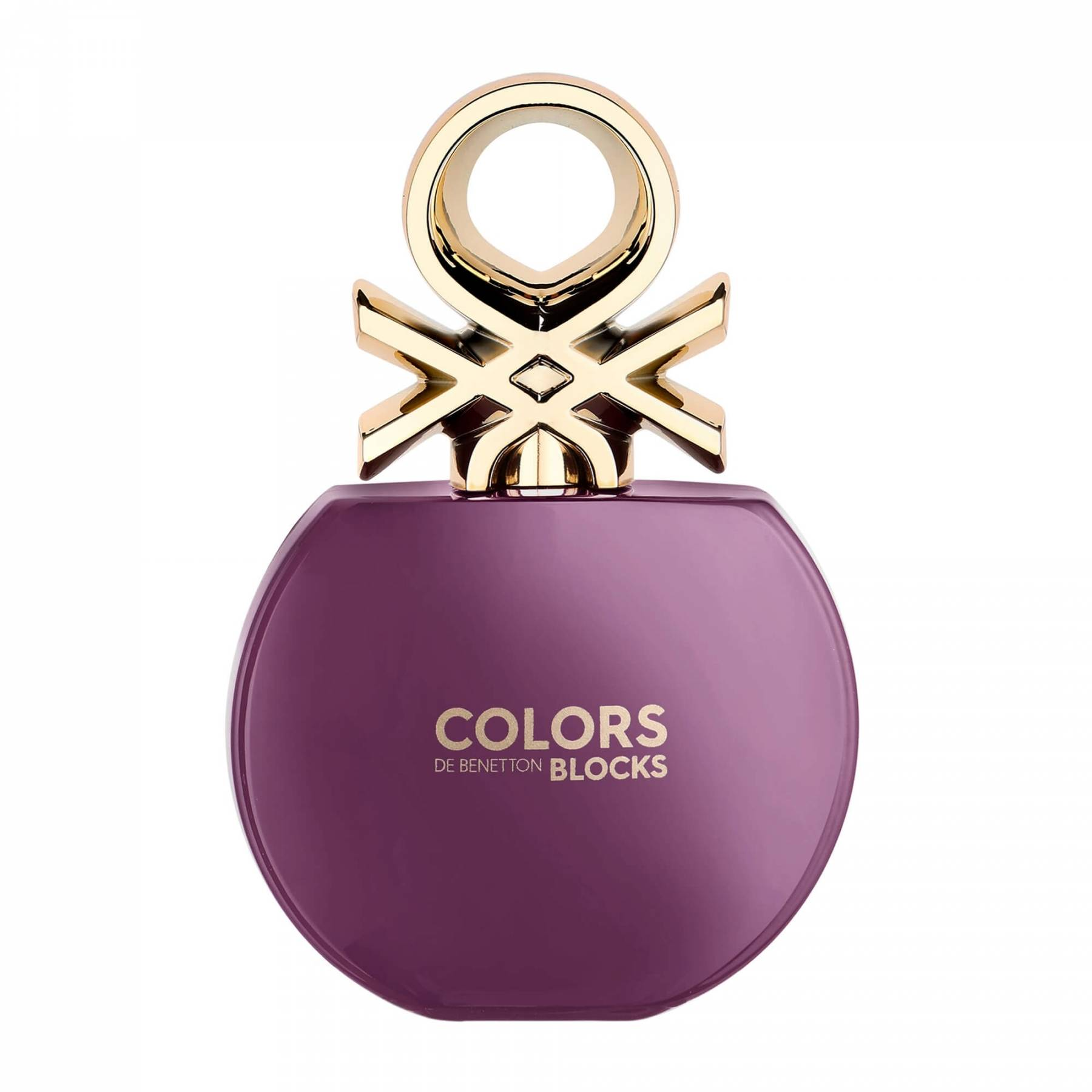 ادو تویلت زنانه بنتون مدل Colors de Benetton Blocks Purple حجم 80 میلی لیتر