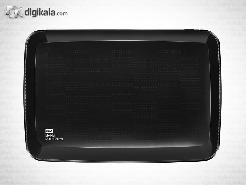 روتر بیسیم وسترن دیجیتال مای نت N900 سنترال - 1 ترابایت